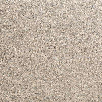 Fedora Taupe Texture 19.7 in. x 19.7 in. Carpet Tile (6 Tiles/Case)