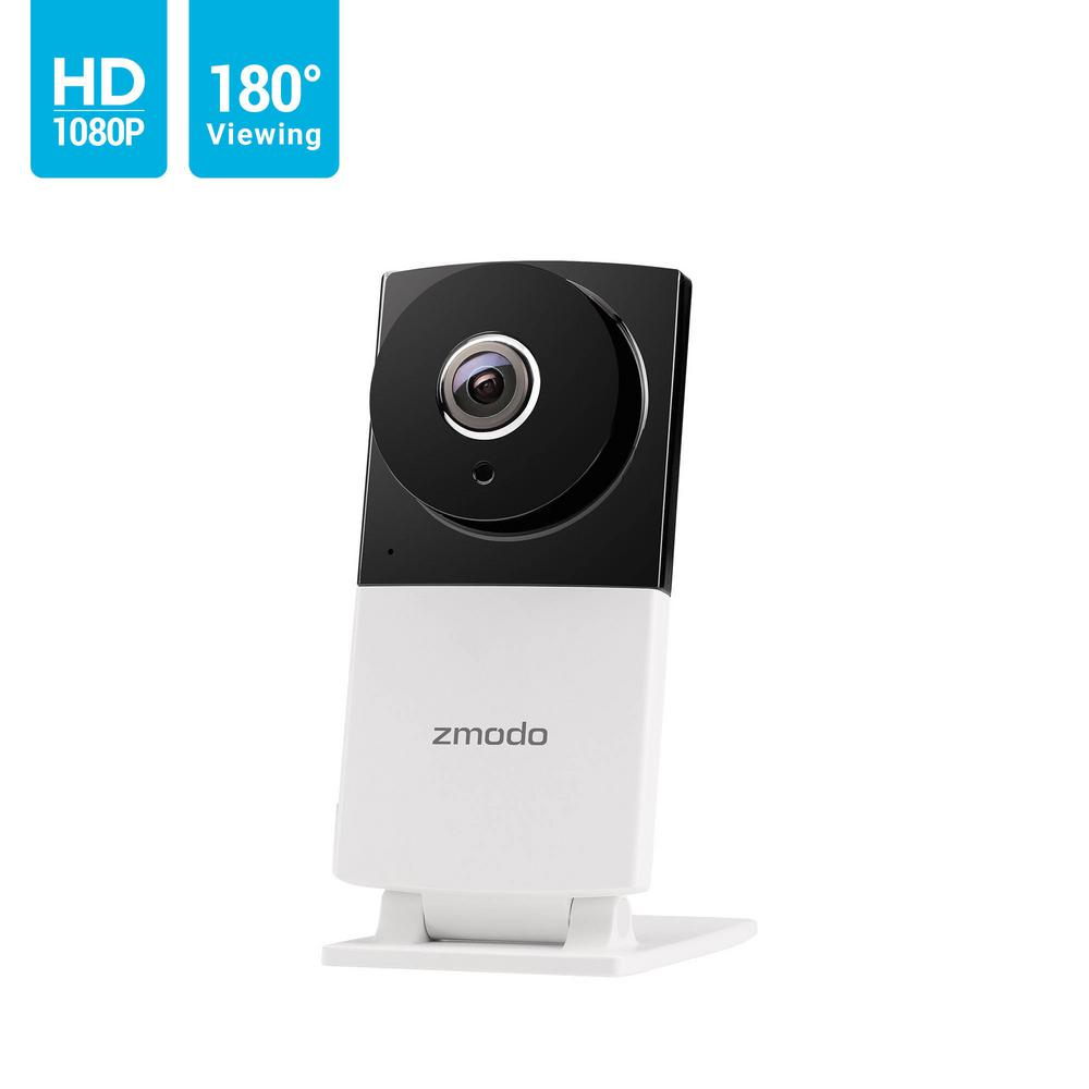 Zmodo Sight 180C 180-View Angle 1080p Indoor Wi-Fi Security Camera with  2-Way Audio