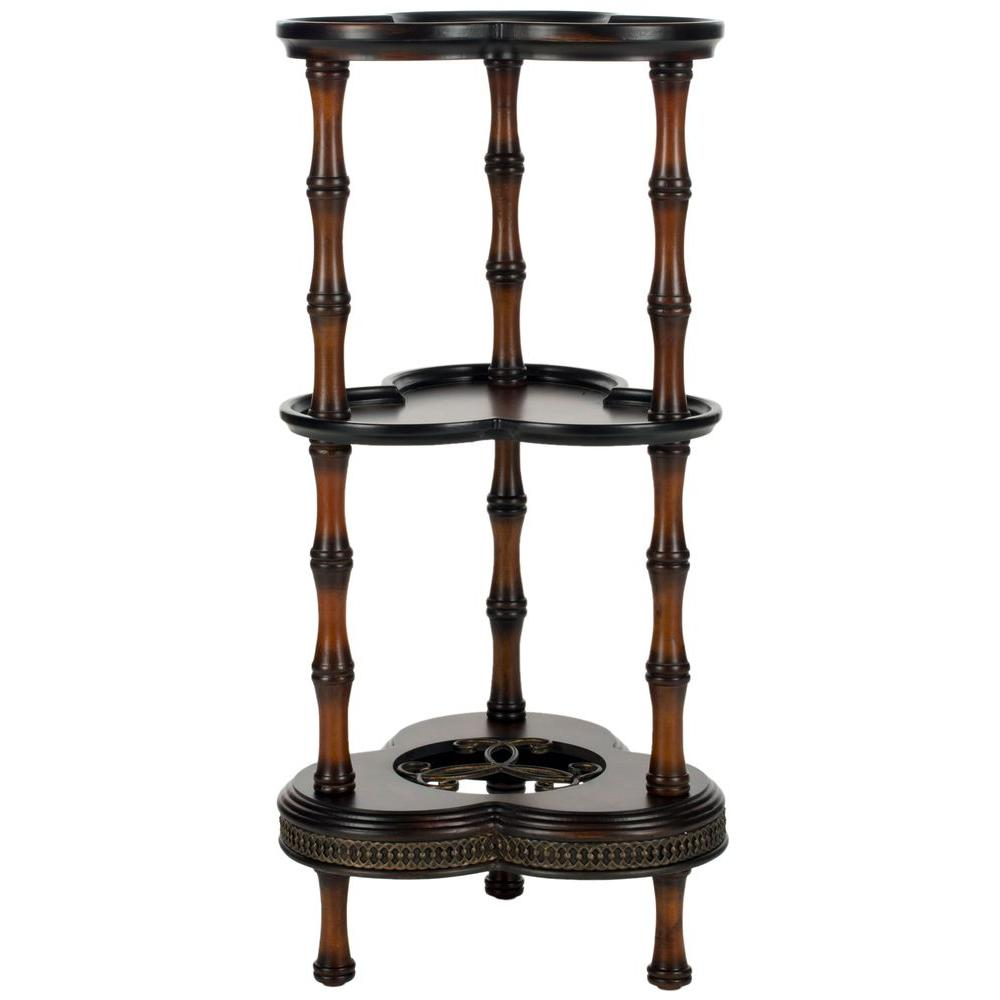 Gloria Dark Brown Side Table