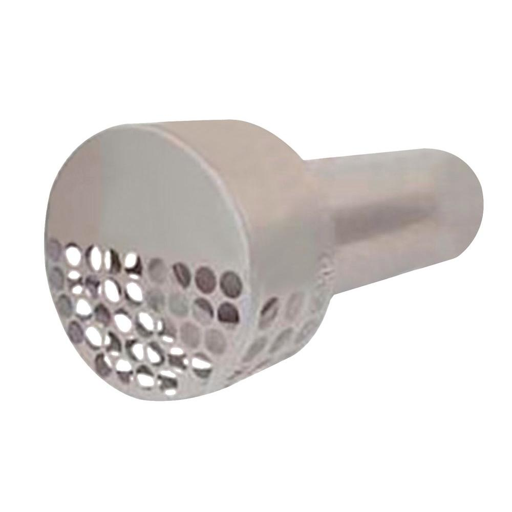 The forever cap 4 in dryer vent cover in stainless steel for Exterior vent covers