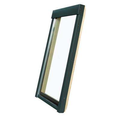 30-1/2 in. x 37-1/2 in. Fixed Deck-Mounted Skylight with Tempered Low-E366 Glass