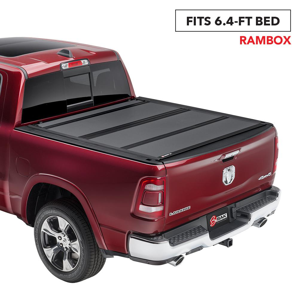 Bak Industries Mx4 Tonneau Cover For 12 18 19 Classic Ram 1500 12 19 2500 3500 6 Ft 4 In Bed With Rambox 448203rb The Home Depot