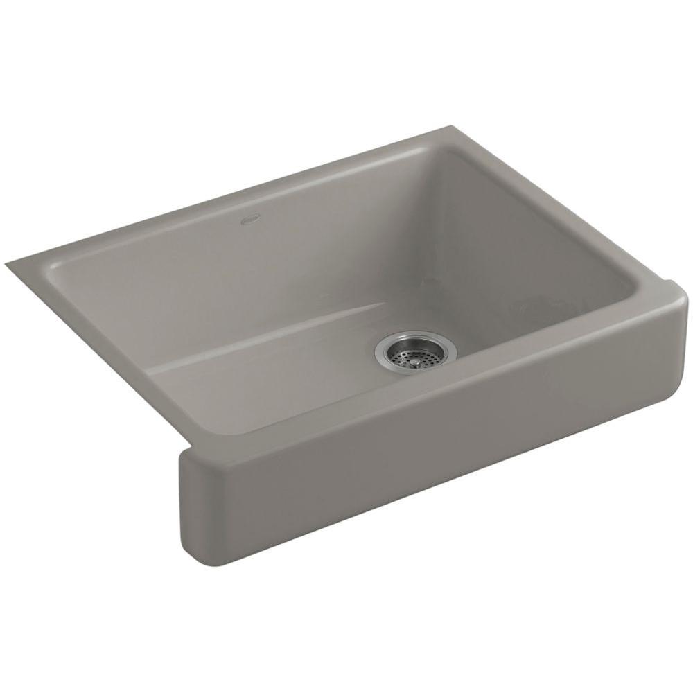 Whitehaven Self Trimming Undermount Single Bowl Kitchen Sink