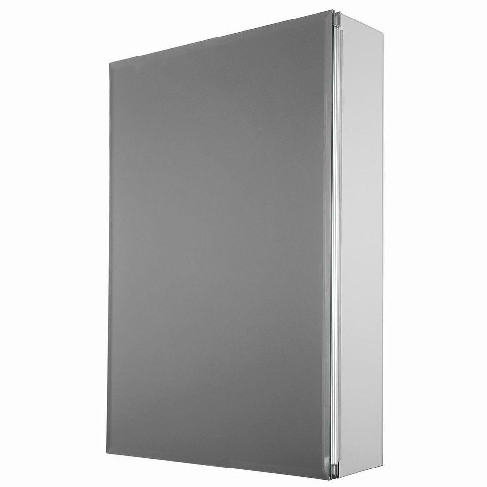 Bathroom Storage Cabinet Ebay glacier bay 15 in. x 26 in. decor recessed or surface mount medicine