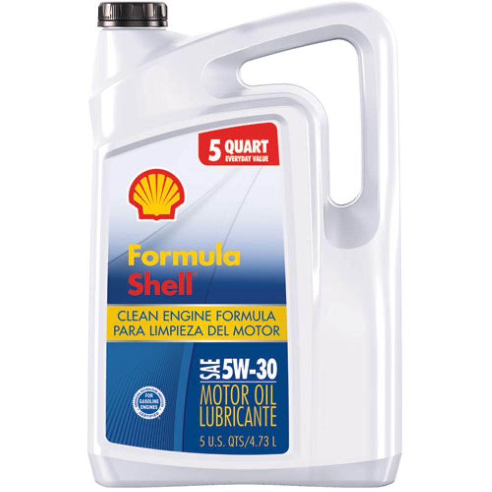 Formula Shell 5W-30 5 Qt. Clean Engine Formula Conventional Motor Oil