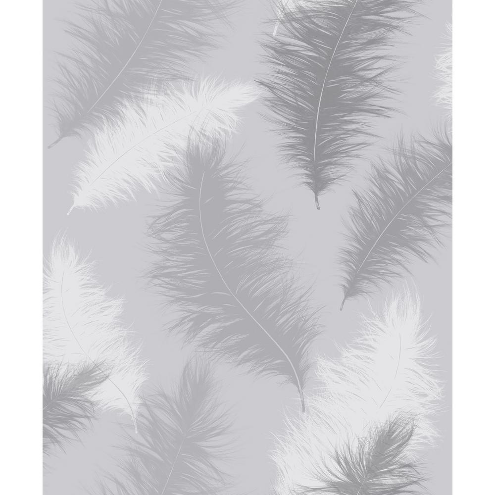 Sussurro Grey Wallpaper