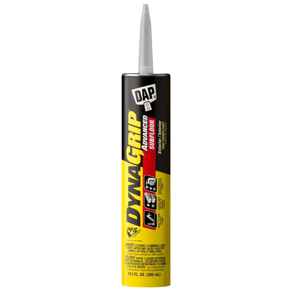 DAP DYNAGRIP 10.3 oz. Advanced Subfloor Construction Adhesive (12-Pack)
