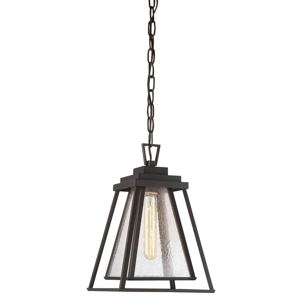 Sleepy Hollow 1-Light Outdoor Dakota Bronze Chain Hung Lantern Light