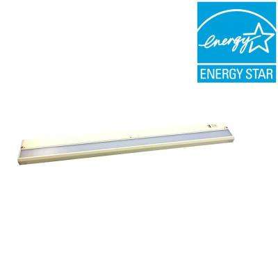 ECO-II 32 in. LED White Under Cabinet Light with USB Charging Port