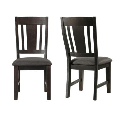 Carter Gray Side Chair Set
