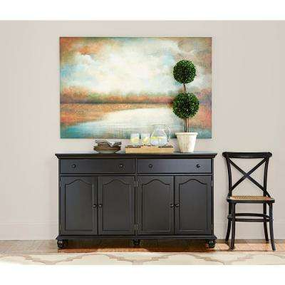 Harwick Black Buffet. Black   Sideboards   Buffets   Kitchen   Dining Room Furniture
