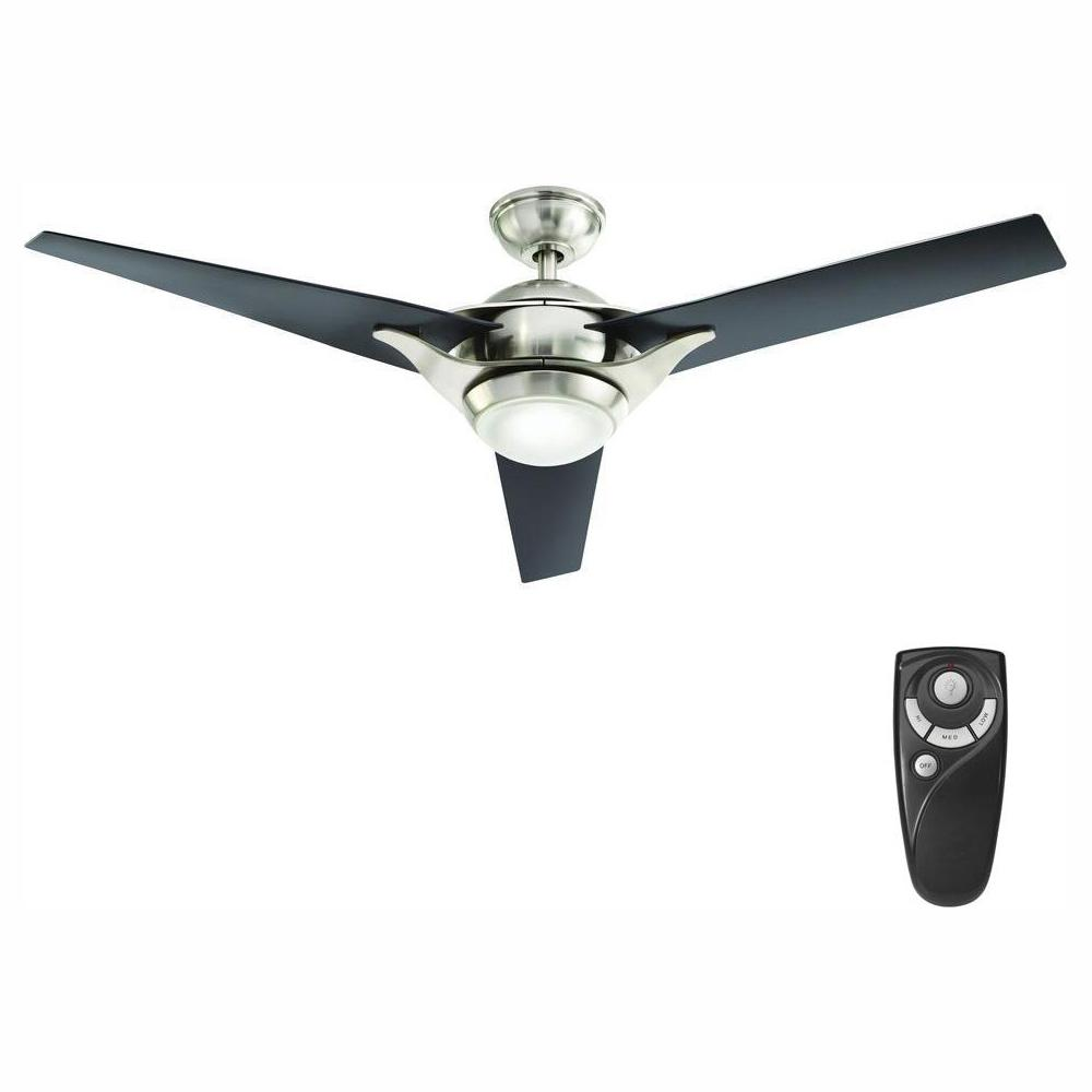 Home Decorators Collection Simpkins 56 in. LED Indoor Brushed Nickel Ceiling Fan with Light Kit and Remote Control