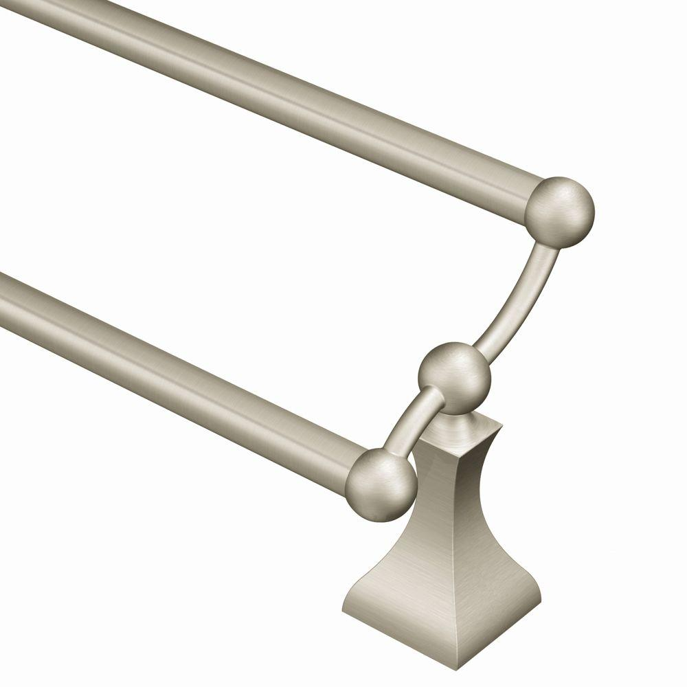 MOEN Retreat 24 in. Towel Bar in Spot Resist Brushed Nickel