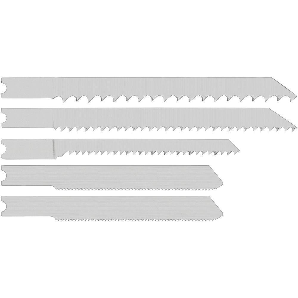 Jig Saw Blades U-Shank (25-Piece)
