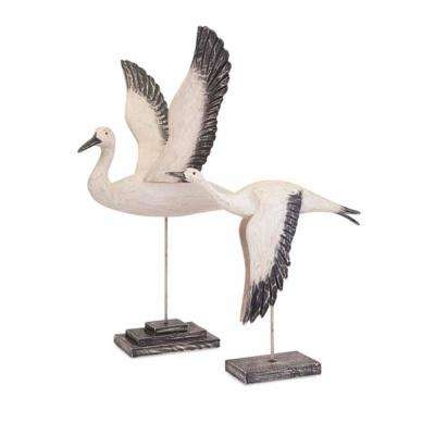 Trisha Yearwood Outer Banks Birds in Flight - Set of 2
