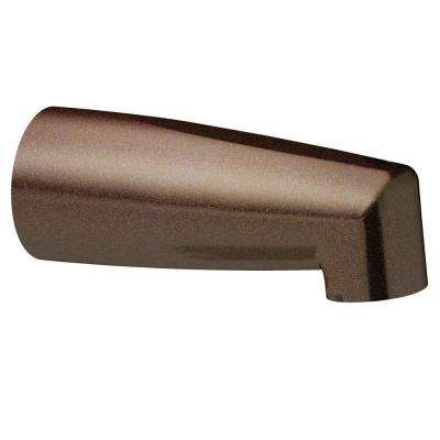 Non-Diverter Tub Spout with Slip Fit Connection in Oil Rubbed Bronze