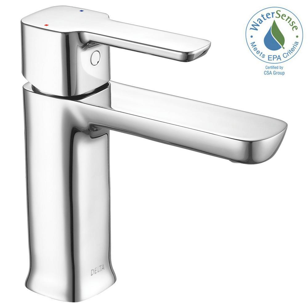 Delta Modern Project Pack Single Hole Single Handle Bathroom Faucet