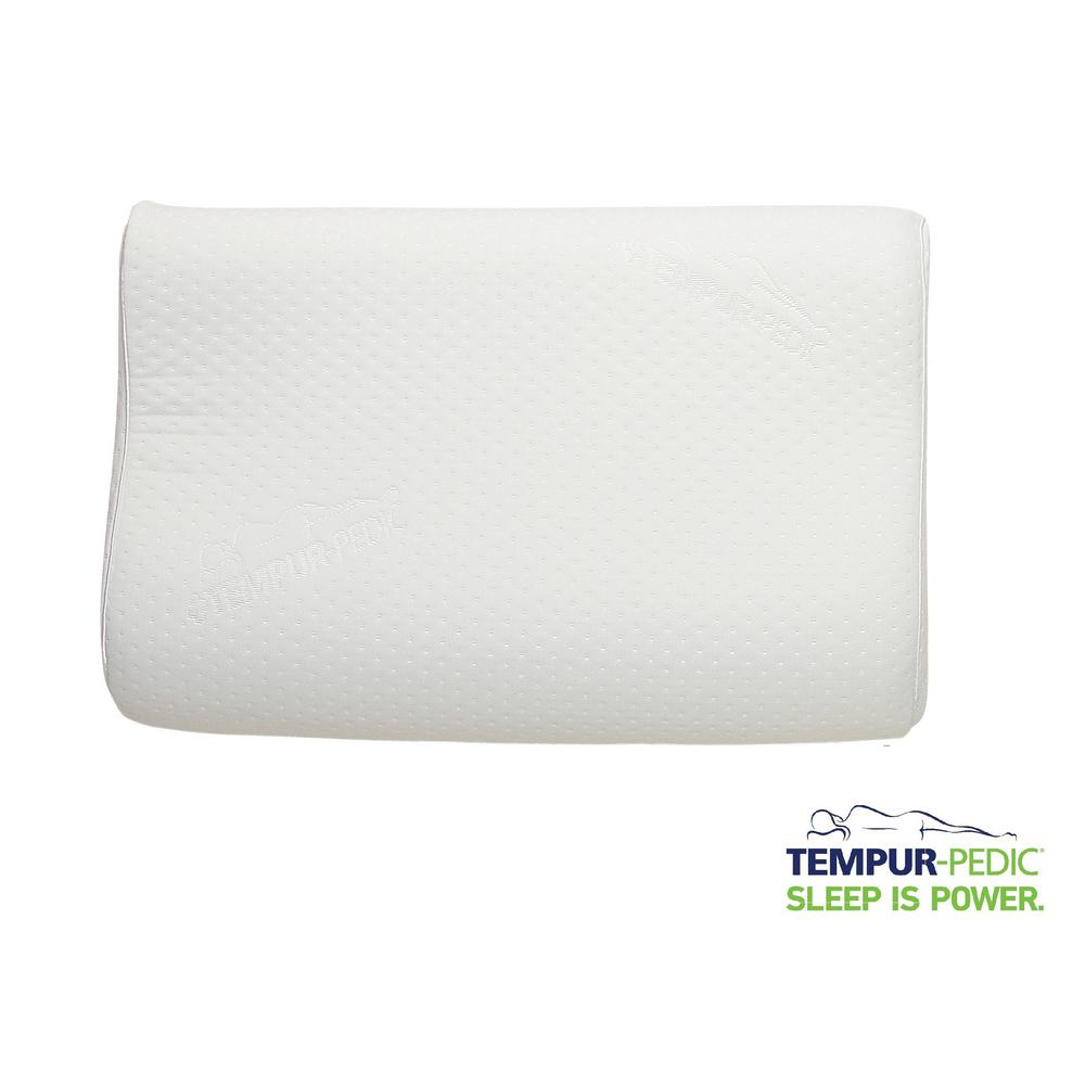 TempurPedic 20 in x 12 in x 4 in Medium Neck Pillow15300415