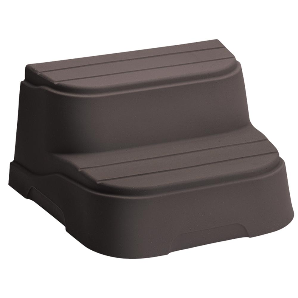 Lifesmart Espresso Step for Rectangle and Square Hot Tubs-78273 ...