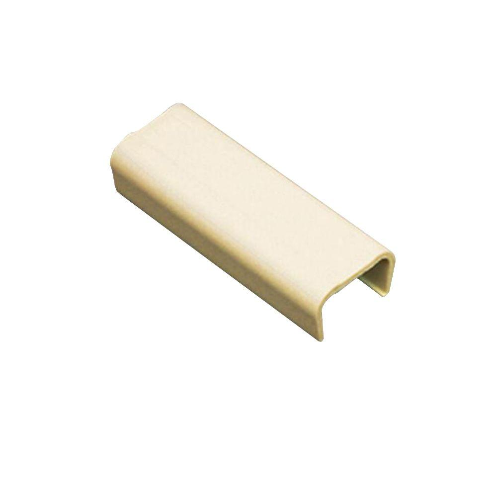 Legrand Wiremold Cordmate Coupling Ivory C9 The Home Depot 5 Ft Non Metallic Hinged Cord Cover Nonmetallic Joint