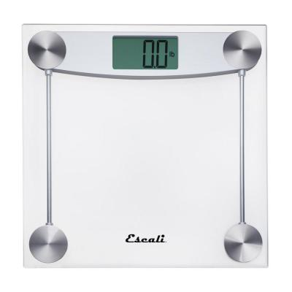 Digital Clear Glass Bathroom Scale