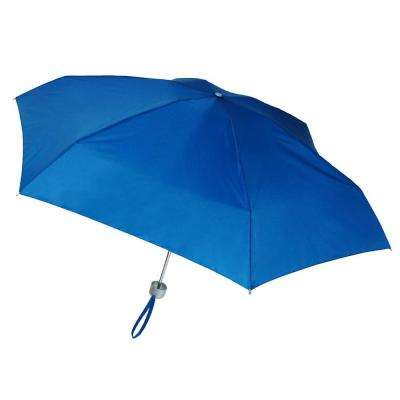 40 in. Arc Ultra Mini Manual Umbrella in Sea Blue