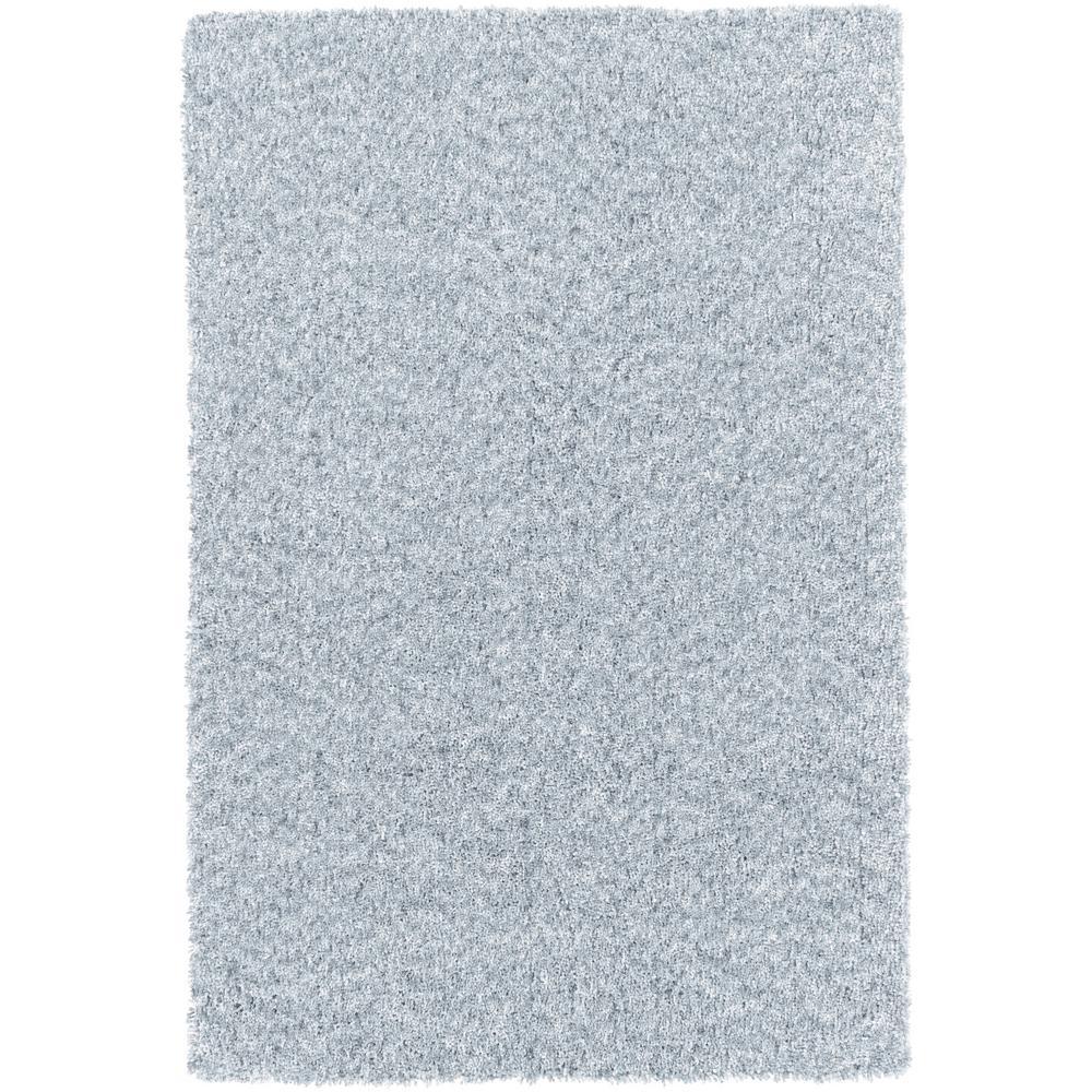 Charlie Pale Blue 8 Ft X 10 Indoor Area Rug