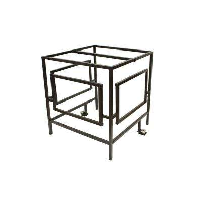 A/C Security Cage Kit (with Top Bar and Lockset)
