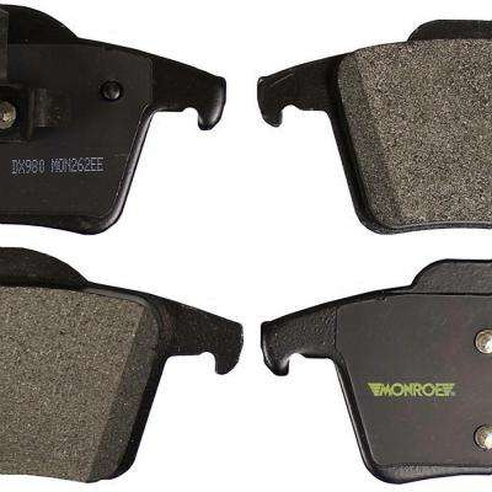 Rear Monroe Total Solution Semi-Metallic Brake Pads fits 2003-2014 Volvo XC90
