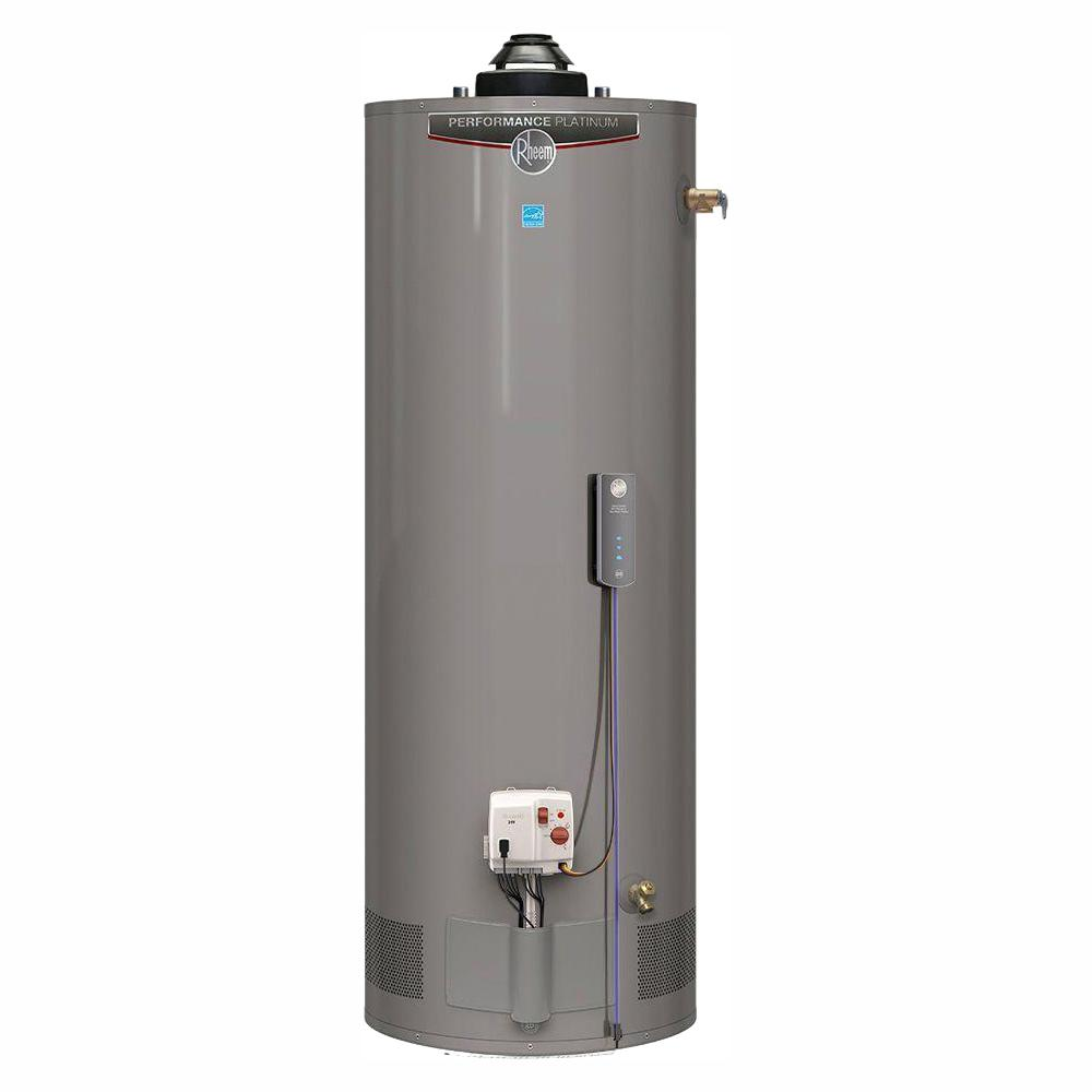 Rheem Performance Platinum 50 Gal. Tall 12 Year 40,000 BTU Natural Gas ENERGY STAR Tank Water Heater with WiFi Module Included