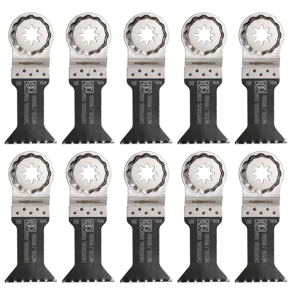 1-3/4 in. E-Cut Universal Saw Blade Starlock Plus (10-Pack)