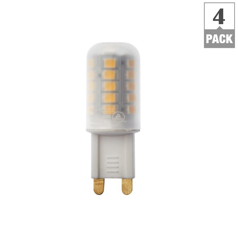 Newhouse Lighting 40w Equivalent Incandescent B10: G9 Halogen Led Replacement