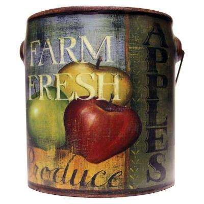 Farm Fresh Ceramic Candle Juicy Apples