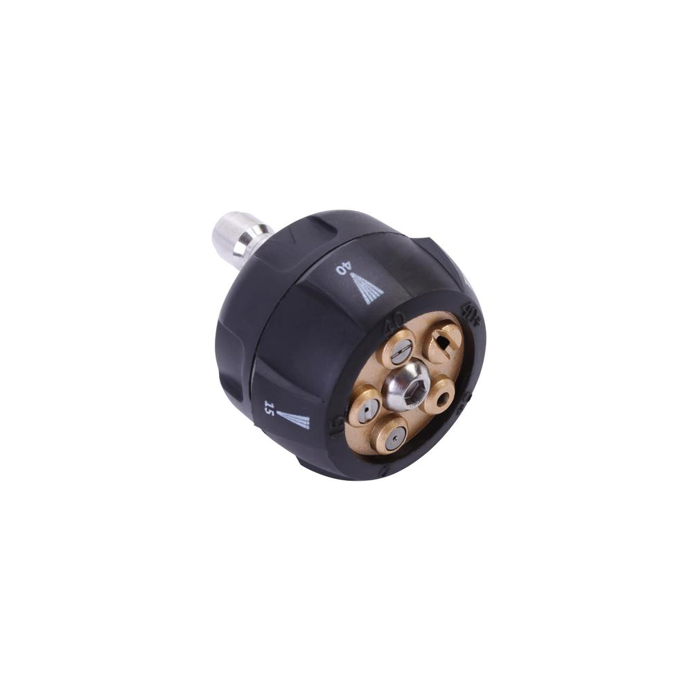 Sun joe in universal pressure washer hose nozzle spx