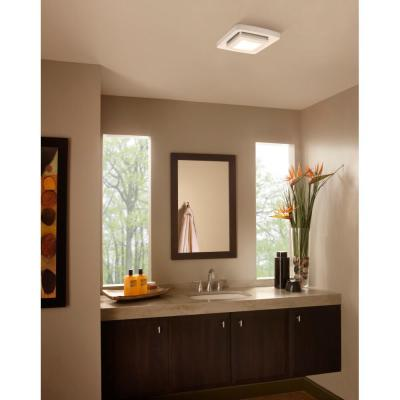 Quick Installation Bathroom Exhaust Fan Grille Cover with LED