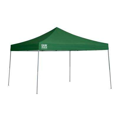 Quik Shade Expedition EX144 12 ft. x 12 ft. Green Straight Leg Pop-Up Canopy