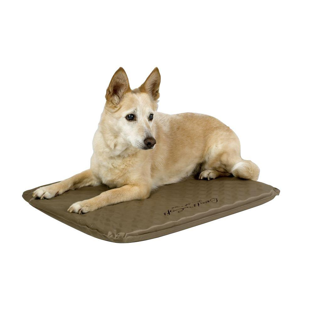 K&H Pet Products Lectro-Soft Medium Brown Outdoor Heated ...