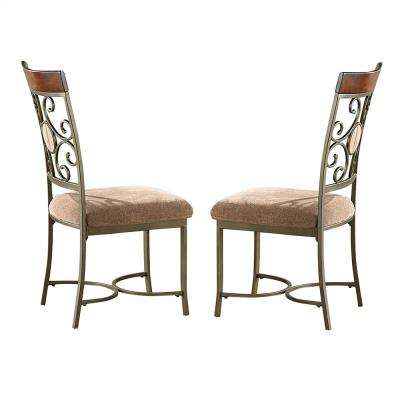 Thompson Brown Side Chairs (Set of 2)