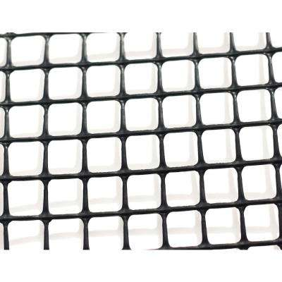 Heavy-Duty Outdoor Deck Netting 15 ft. Roll, Black