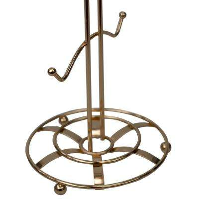 Lyon 6-Hook Rose Gold Mug Tree