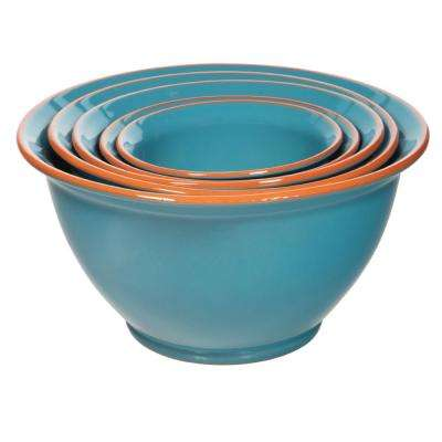 Terracotta Mixing Bowls (Set of 5)