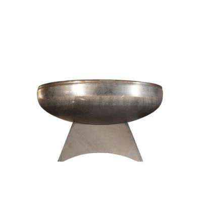 Liberty 36 in. x 18 in. Round Steel Wood Burning Fire Pit with Standard Base