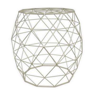 18 in. x 18 in. Champagne Accent Table