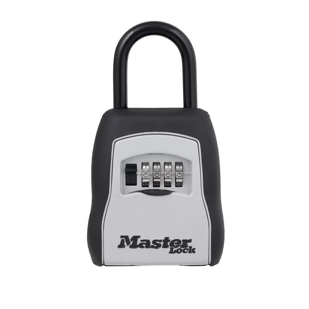 MASTERLOCK Master Lock 5400D 9.6 cu in. Set Your Own Combination Portable Lock Box, Gray
