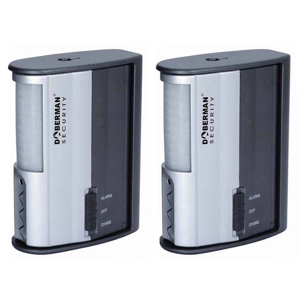 Doberman Wireless Door Motion Detector Alarm (2-Pack)