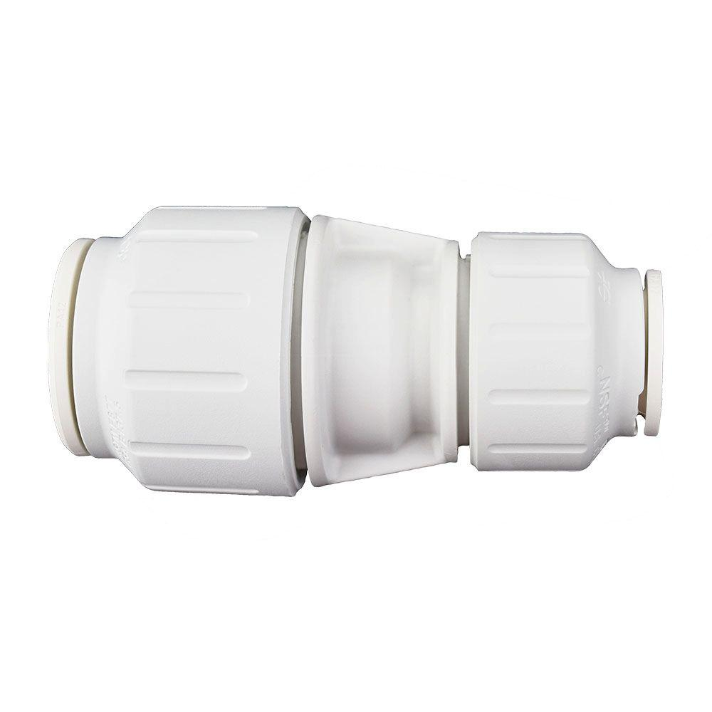 3/4 in. x 1/2 in. Plastic Push-to-Connect Reducing Coupling Contractor Pack