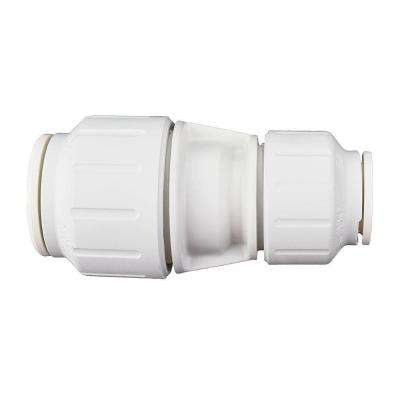 3/4 in. x 1/2 in. Plastic Push-to-Connect Reducing Coupling Contractor Pack (5-Pack)