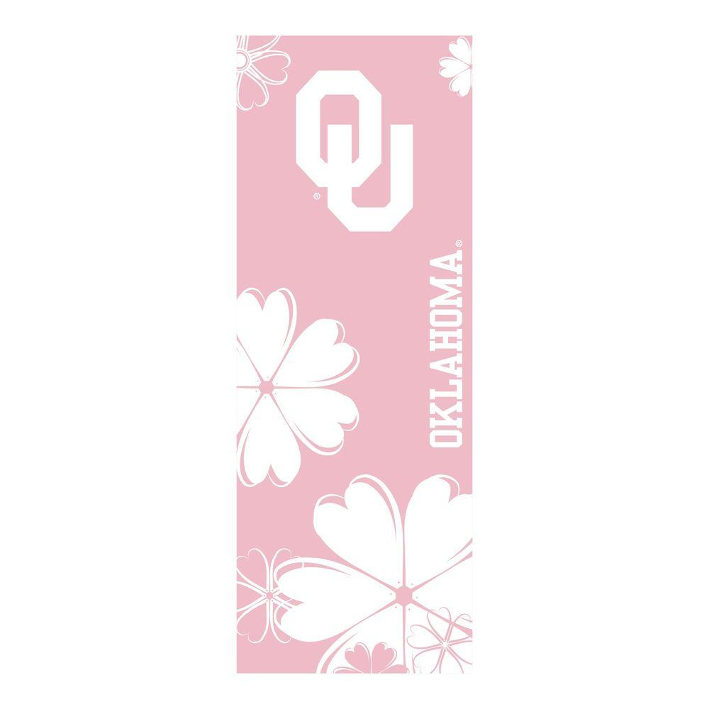 FANMATS University of Oklahoma 24 in. x 67.5 in. Yoga Mat-DISCONTINUED