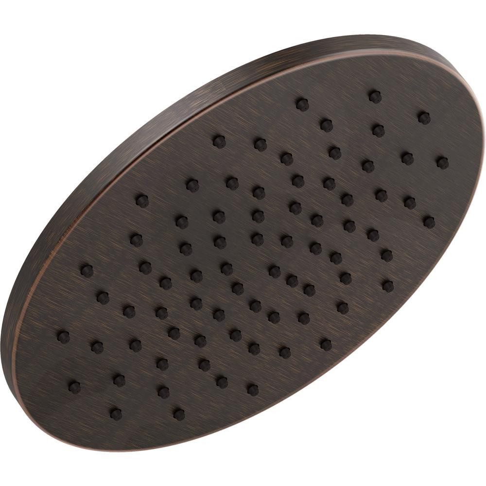 1-Spray 11-3/4 in. Round Showerhead in Venetian Bronze