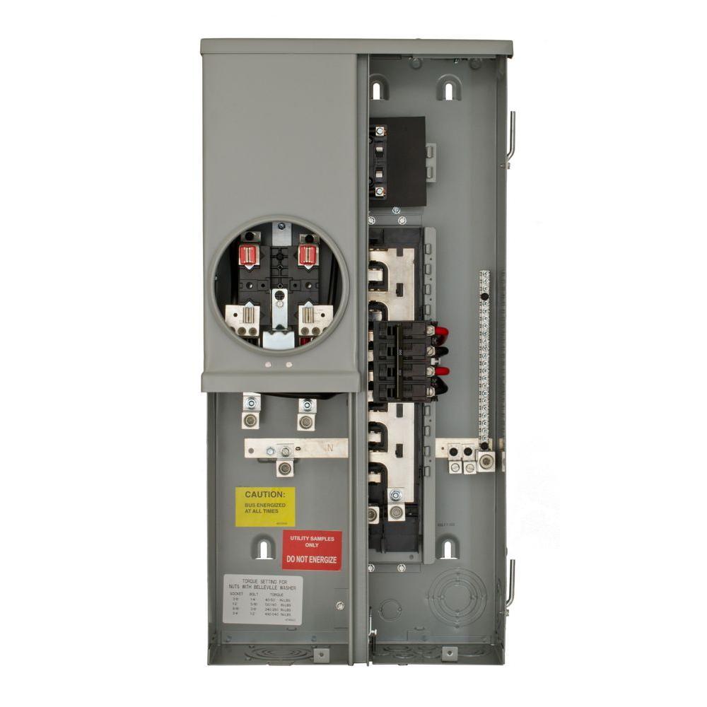 Siemens 200 Amp 8 Underground